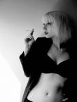 Bayan Avatarlar Siyah Beyaz (31)