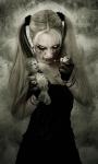 Bayan Avatarlar Siyah Beyaz (69)
