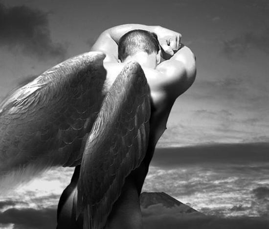 фото эротич ангел мужчина