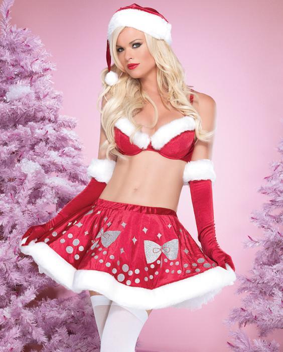 Lingerie Santa